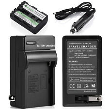 NP-FM500H Battery + Charger For Sony Alpha SLT-A57 A58 A65 A77 A99 A550 A850 A99