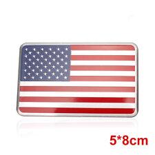 US USA American Flag 3D Car Sticker Auto Decor Decal Badge Emblem Aluminium