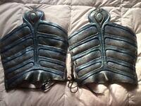 Stargate SG-1 Aris boch Jaffa armor shins screen used back ups