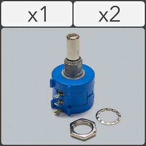 BOURNS 3590S Rotary Wirewound Precision Potentiometer POT Multiturn. 100 - 100k