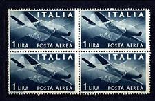 ITALY - ITALIA REP. - 1945-1947 - Francobolli di posta aerea