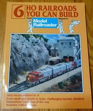 How to Book: #12131 (6 HO Railroads You Can Build) We Combine Ship