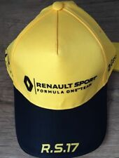 OFFICIAL RENAULT SPORT FORMULA ONE TEAM R.S.17 2017 ADJUSTABLE YELLOW CAP
