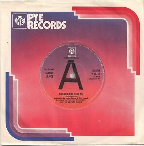 NORTHERN SOUL 45 - MAJOR LANCE - NOTHING CAN STOP ME - PROMO - PYE - NEAR MINT