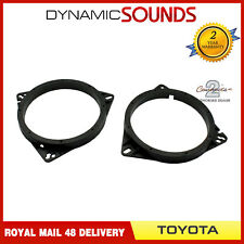CT25TY02 165mm Front Door Speaker Adaptor Kit For Toyota Corolla 2002 Onwards
