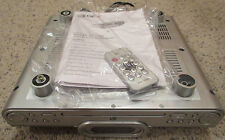 GPX KC318S Under Cabinet CD Player Radio w/ Remote Control & Instructions USED