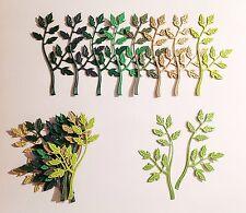 Cheery Lynn Leafy Flourish Die Cuts (greens)