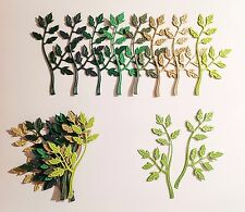 Cheery Lynn Frondoso Flourish dado corta (verdes)