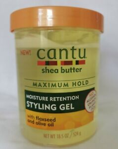 Cantu Maximum Hold Moisture retention styling Gel 18.5oz - AU Stock