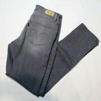 Levis Jeans Women's 8 Mid Rise Skinny Light Gray