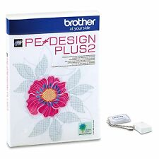 Genuine Brother PE Design Plus 2 Embroidery Digitsing Software