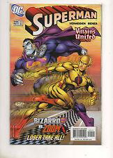 Superman #221 ZOOM Reverse Flash vs Bizarro Superman Race Loser Take All 2005 NM