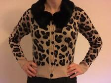 Ladies animal print cardigan by Collectif size UK 10
