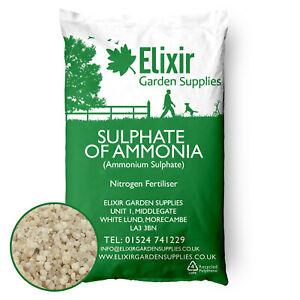 25kg Granular Sulphate of Ammonia Plant Food Fertiliser 25kg Bag 21-0-0