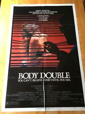 Body Double One Sheet Poster Brian De Palma Melanie Griffith