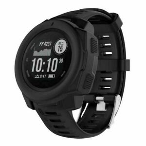 Silicone Frame Case  Shell Protector Skin Cover For Garmin Instinct GPS Watch
