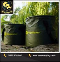 RidgeMonkey New V2 Collapsible Water Bucket - 10Ltr OR 15Ltr