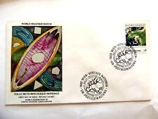 "April 21st,1989 ""Veille Meteorogique Mondiale"" WFUNA Cache First Day Issue Lot#2"