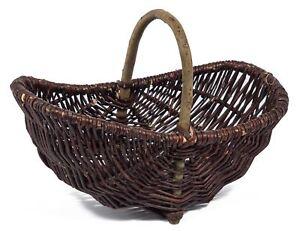 Wicker Trug Garden Basket