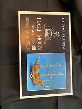 Half Moon Issue Sail Boat Model Assembly Kit Corel Plan on Frame 1/50 Wooden F/S