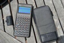 HP 48SX SCIENTIFIC CALCULATOR w 128K RAM CARD 82215A & MATHEMATICS PAC