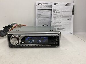 Jvc Kd-Pdr51 Radio stereo Cd Mp3 Media Player Front Aux In Socket iPod Phone