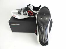 NEW Fizik R3 OUMO Road Cycling Shoes 43 / 9.5 Carbon White/Red $300 Retail