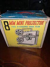 Vintage 8mm Mini Film Movie Projector Kiddy Cinema 60's