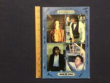 1987 Official Rem R.E.M. Work Tour Concert Program / Booklet