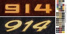 Lloyd Mats Porsche 914 Custom Embroidered 914 Floor Mats (1970-1976)