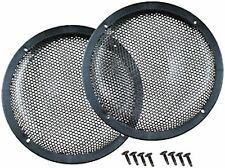 "PAIR 10"" Medium Duty High Excursion Subwoofer Speaker Classic Grill Grills Cover"