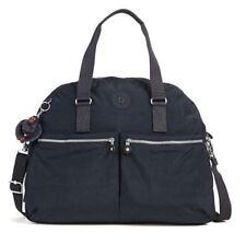 New Kipling Eugina Satchel Bag In Black SL4806 Tote