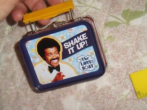The Love Boat Issac the Bartender Shake It Up! 2016 Teeny Tins Lunch Box CBS CO
