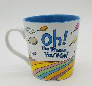 2017 Vandor Dr. Suess Oh The Places You'll Go Coffee Mug