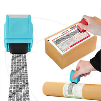 Timbro Personalizzato Protezione ID Dati Riempimento inchiostro a Rullo Ve YI