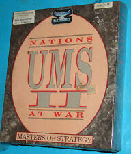 UMS 2 Universal Military Simulator - Nations At War - 5.25 Floppy Ver. PC Nuovo