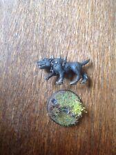 Warhammer Mordheim Warhound, Hound, ataque Perro, Imperio Cazadores de Brujas (B) De Metal