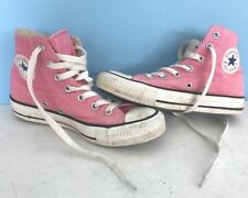 Converse Chuck Taylor All Star Pink Hi Tops Sneakers shoes men's 3.5 Womens 5.5
