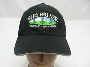 GARY GRUNER - CHEVROLET BUICK GMC - EMBROIDERED - ADJUSTABLE BALL CAP HAT!