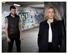 "-THE FALL- cast  ""Gillian Anderson & Jamie Dornan""- Glossy 8x10 Photo"