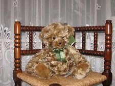 Harrods UK AA 12 Inch Brown Mohair Look Teddy Bear 11865A