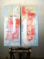 quadro moderno dipinto  ad olio su tela astratto artista Sauro Bos 100x80