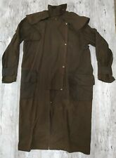 EIDEX KIWI STOCKMAN LONG LENGTH BROWN WAX RIDING COAT SIZE M/L