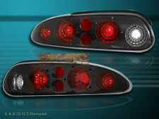 93-02 CHEVY CAMARO TAIL LIGHTS JDM BLACK G2 NEW 01 00 99 98 97 96 95 94