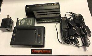 CONTOUR CONTOURHD HELMET CAMERA DVR 1080p #1300 CAMCORDER RECORDS GREAT BAD USB