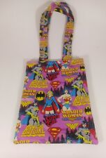 DC Comics Women Lg Handmade Graphic Novel Comic Book Sleeve Protector Tote