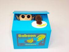 Mischief Monkey Baboon Coin Bank Piggy Bank Coin Saving Box Toy Kids Gift USA