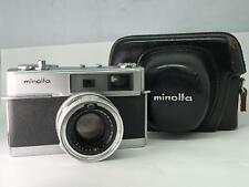 【As-is】Minolta HI-MATIC 7 w/ Rokkor-PF 45mm f1.8 from JAPAN