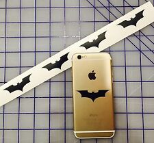 4 BATMAN DARK KNIGHT LOGO DC Comic Ipod CELL PHONE STICKER EMBLEM JDM Laptop