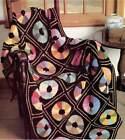 Color Wheels Afghan Pattern in Crochet Vintage